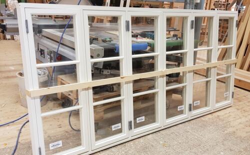 Kopplade allmogefönster, 6-luft